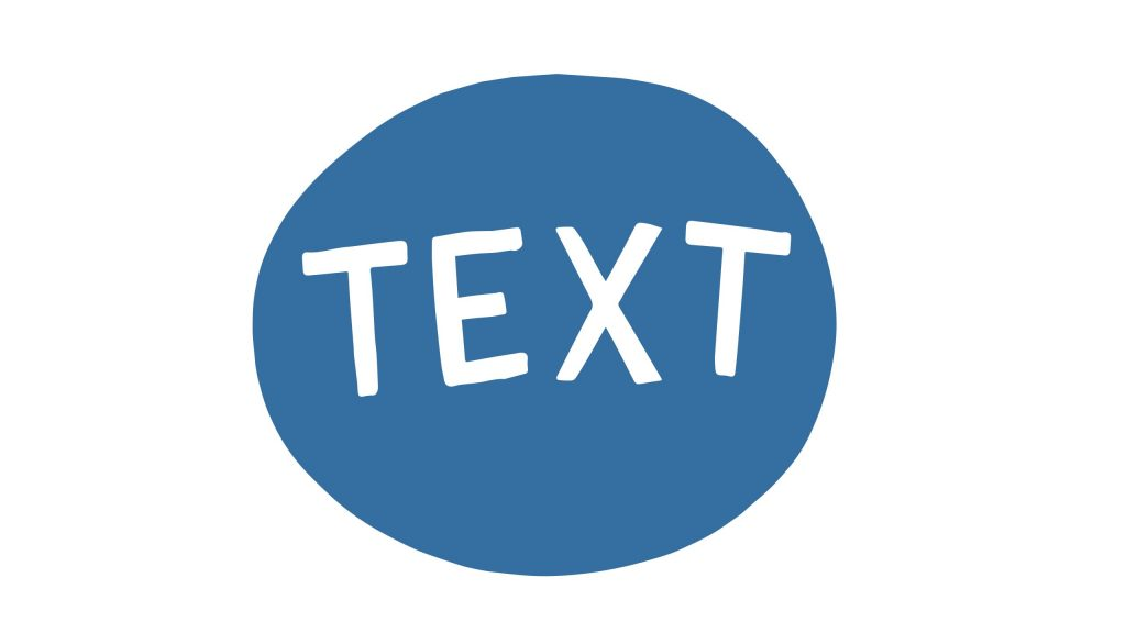 Button for Text